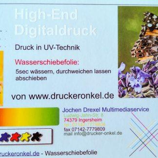 Decal-Druckservice